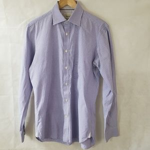 Ted Baker Endurance Purple Button Down Shirt